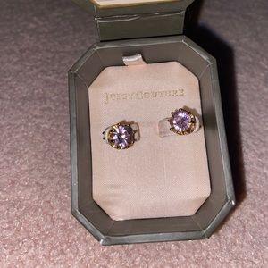 Juicy Couture Pink Stud Earrings